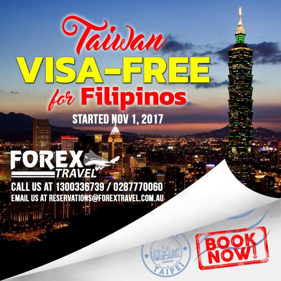 forex-travel-australia-filipinos-taiwan_visa_free