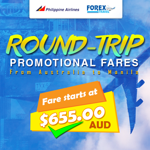 forex travel australia philippine airlines roundtrip promo january 2018