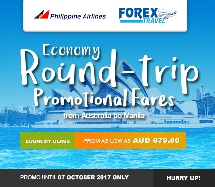 Forex-Travel-Australia-Philippine-Airlines-Australia-to-Manila-PROMO-2017