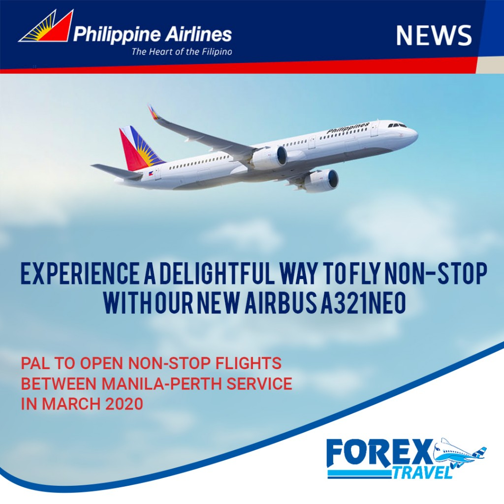 PAL-Manila-Perth Flights