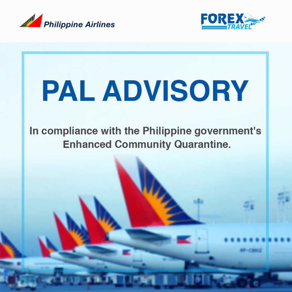 PAL Advisory Manila Luzon Enhanced Community Quarantine